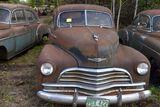 1946 Chevy Deluxe Stylemaster 2 door, no title