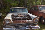 1957 Ford 4 door, no hood, titled