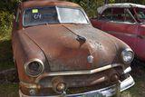 1951 Ford Custom 2 door, good glass, no title