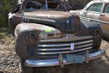1939 Ford 2 door, smashed roof, coupe, good clip, no title