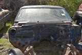 1965 Chevy Impala 2 door, missing doors and front clip, no engine, good rear bumper, no title
