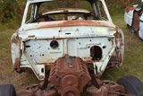 Studebaker Powerhawk 1955 to 57 no front clip, no rear clip, body and doors only, no title