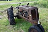 Oliver 70 row crop, narrow front, clam shell fenders, non running
