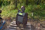 Bellman garden tractor, walk behind, steel wheels, made in mpls