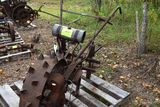 Kenkade walk behind, single wheel, steel wheel made in mpls