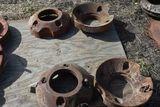 4 IHC Rear Wheel Weights