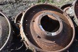 2 Steel Rear Wheels With Lugs