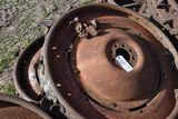 2 Steel Rear Wheel With Lugs