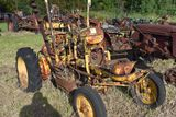 Massey Harris Pony, industrial, with massey harris belly sickle mower, missing engine