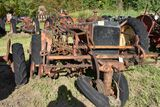 Allis Chalmers WC, narrow front with 2 row cultivator