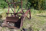 Duall hydraulic loader with grapple forks, fits 706 806