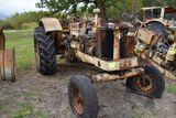 Cockshutt wheatland diesel, missing hood, non running