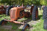 Cockshutt 30 wide front, gas, rear wheel weights good, fenders