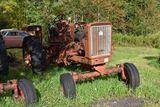 Farmall 706 no engine, no hood,square fenders