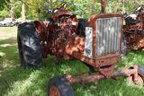Farmall 706 diesel, no engine, no hood, round fenders wide front