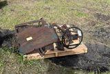 Model A door, bumper steering column,hood