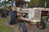 Cockshutt 570 wheatland tractor,factory cab, gas, wheatland fenders non running