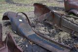 2 Model A front fenders and running boards