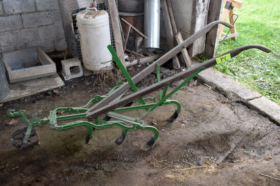 Walk Behind Cultivator, Restored, No. 366