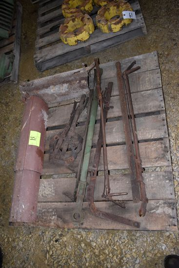 Pallet Of Mechanical Lift Arm Levers & PTO Shields