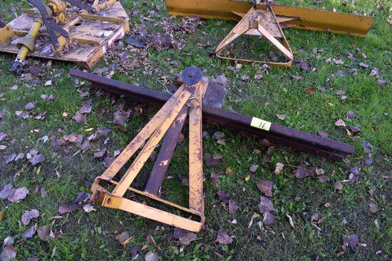 SpeeCo 3pt, 6 ft Rear Blade