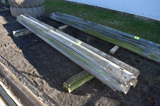 "Approx 12 Guard Rails 13'6"" long"