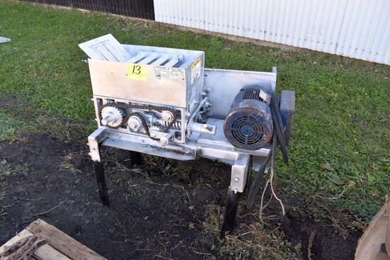 Harvestore Roller Mill, 5HP Single Phase Electric Motor