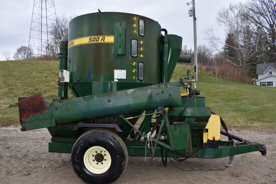 Arts-Way 500A Mixer Mill, 1000PTO, Hydraulic Orbit Drive, Extra Screens, Rebuilt, 640 Scale