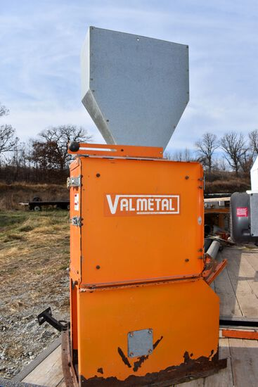 Valmetal Model 1215 Hammer Mill, Single Phase, 10hp