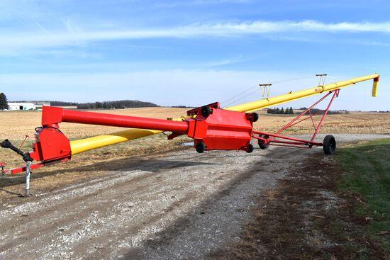 2010 Westfield MK 100-61 Swing Hopper, Hydraulic Lift, PTO, SN: 222992