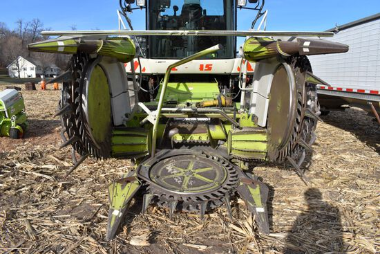 Claas RU450 Xtra Corn Head, 15' Or 6 Row, Ear Saver, SN: 66004220