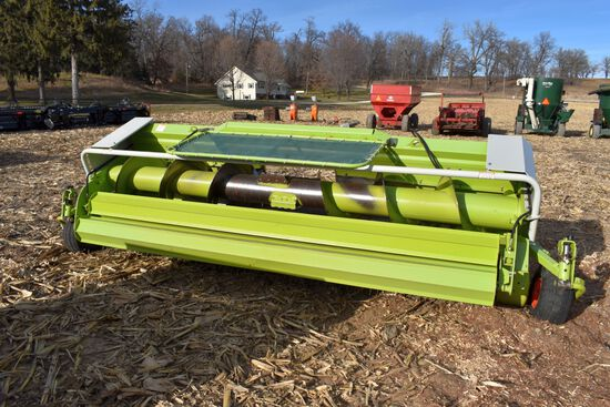 "Claas PU380 HD Hay Head, 12'6"", New Cams & Bearings, SN: 42903026"