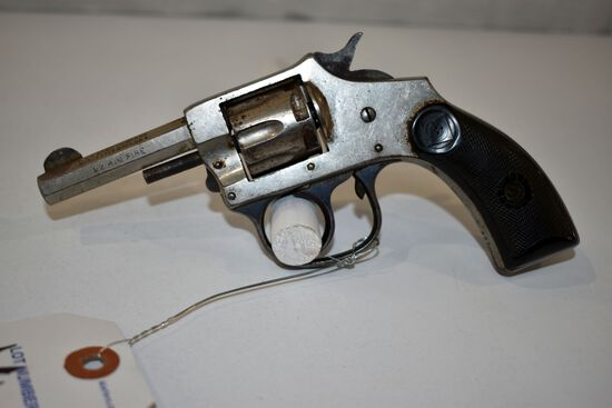 H&R Model 1906 Revolver, 22 Rim Fire, 7 Shot SN: 118786