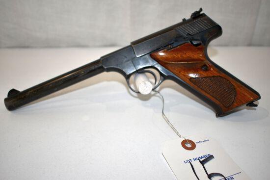 Colt Targetsman 22 Cal LR Semi Auto Pistol, SN: 160702-C, one magazine