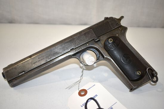 Colt 1902 Military Model 38 Cal., Semi Auto Pistol, SN: 34595, good bore, one magazine