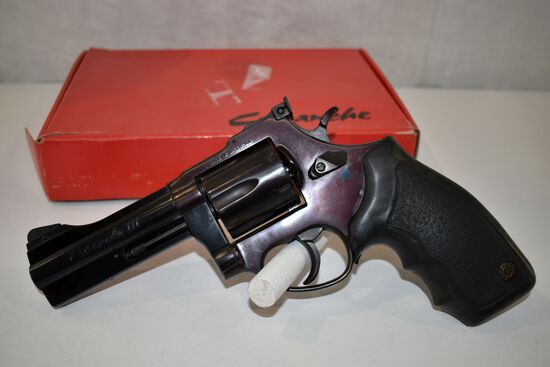 "Comanche III 357 Cal Magnum Revolver, 6 Shot, 4"" Barrel, SN: 143757, With Box"