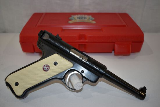 Ruger Mark II 22 cal LR Semi Auto Pistol, NRA William B. Ruger Endowment Commemorative, 1916 to 2002