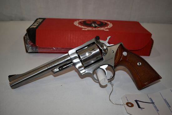 Ruger Security-Six 357 Magnum Stainless Steel Revolver, Minneapolis Police 1978 Commemorative, SN: 1