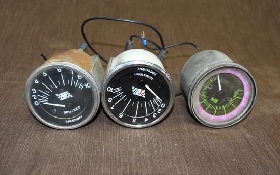 2 Speedway Tachometer 1 Artic Cat Speedometer