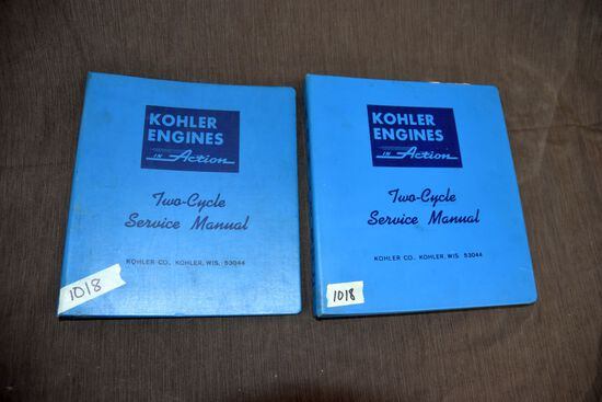 Kohler Service Manuals One Full Of Service Information One Empty