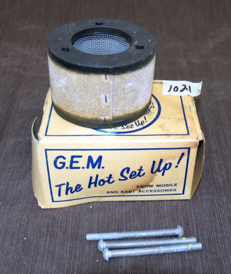 G.E.M. Air  Filter With Box