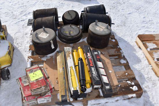 8 Semi Truck/Trailer Air Bags, Shocks, Slack Adjusters