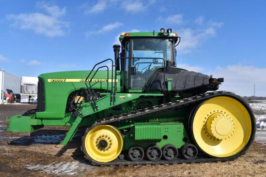 2000 John Deere 9300T Tractor, 4074 Actual Hours