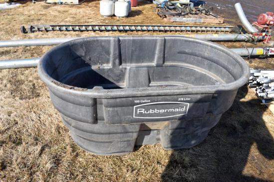 Rubbermaid 100 Gallon Water Tank