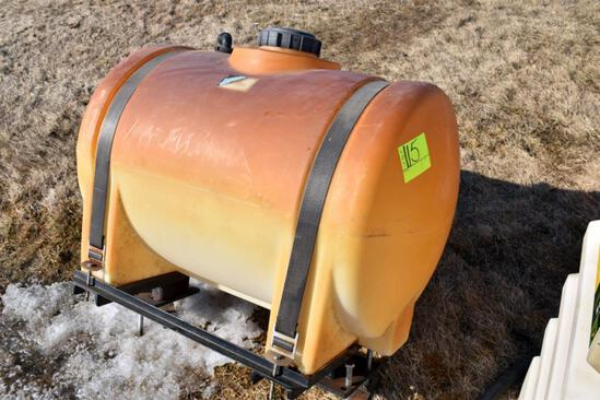 65 Gallon Poly Tank With Metal Mounts