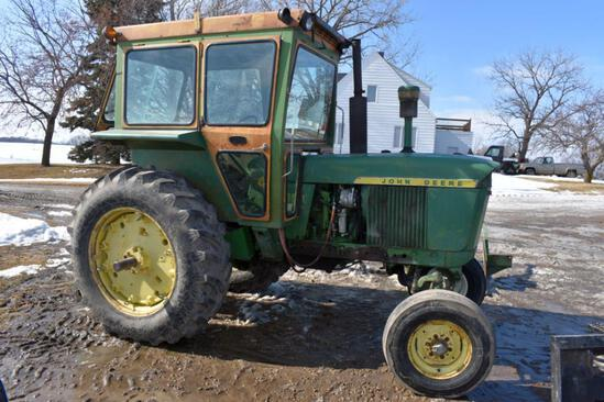 John Deere 3020 Diesel Tractor, Wide Front, 2 Hydraulic, 3pt with Quick Hitch, 540/1000PTO, Syncro