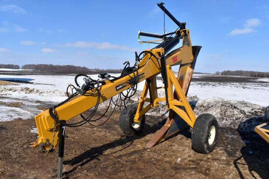 Soil Max Gold Digger Stealth ZD Pull-Type Tile Plow