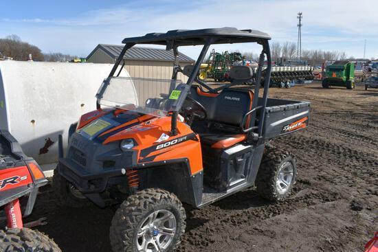 2012 Polaris Ranger XP 800 EFI, 4x4, 5713 Miles,