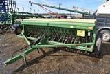 John Deere 8350 Grain Drill, 12', Grass Seeder, 6
