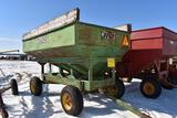 Dakon 150 Bushel Gravity Flow Wagon With John Dee